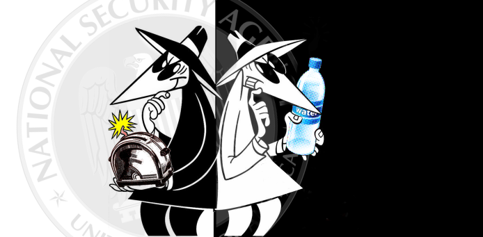 Spy vs Spy_Water Electricity